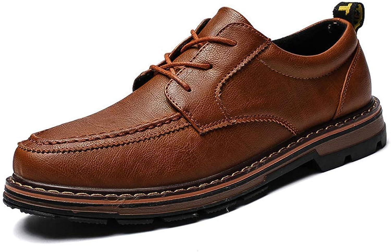 FuweiEncore 2018 Men's Simple Comfortable Non-slip Sole Business Oxford Casual Formal shoes (color  Black, Size  42 EU) (color   Brown, Size   40 EU)