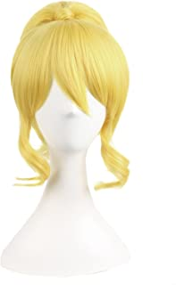 MapofBeauty Yellow Split Ring Type Allot Cosplay Wigs