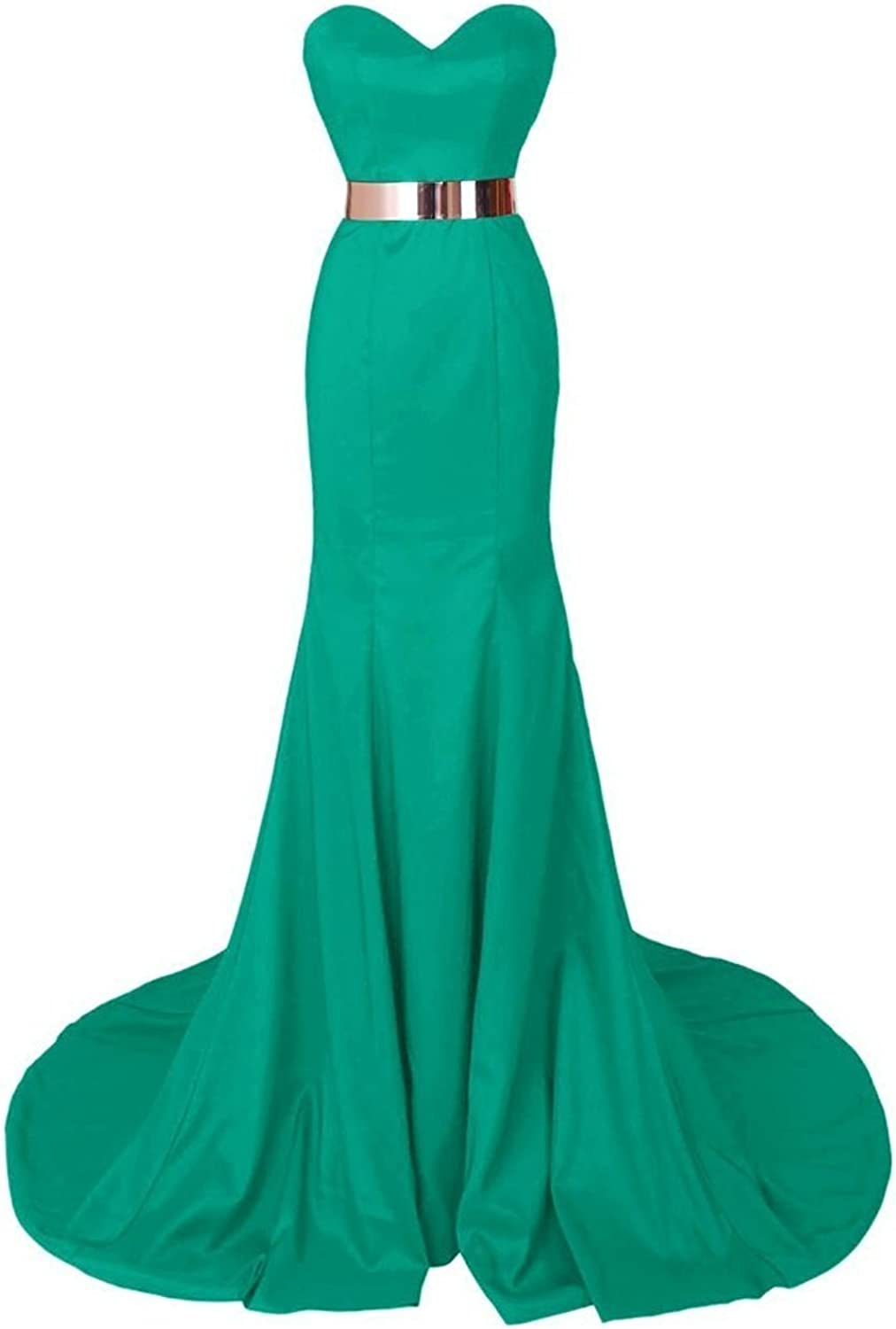 Beilite Sweetheart Mermaid Long Prom Dresses Formal Evening Gowns