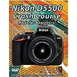 Nikon D5500 Crash Course Training Tutorial DVD | Made for Beginners!