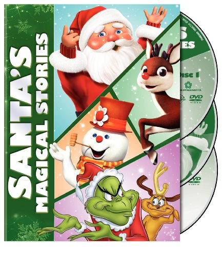 Santa's Magical Stories (Dr. Seuss' How the Grinch Stole Christmas / The Year Without a Santa Claus / Jack Frost)