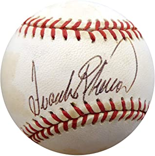 frank robinson autograph value