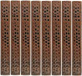 Premier Copper Products Hammered Copper Tile 1-Inch by 8-Inch - Pack of 8