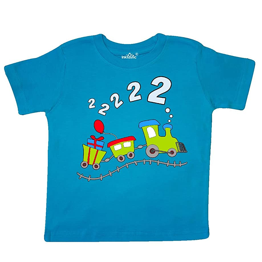inktastic - 2nd Birthday Party Train Toddler T-Shirt 285ba