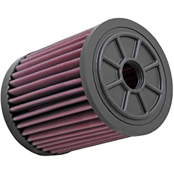 K/&N E-0666 Washable and Reusable Car Replacement Air Filter