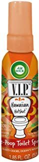 Air Wick V.I.P. Pre-Poop Toilet Spray, Up to 100 uses, Contains Essential Oils, Hawaiian Hotshot Scent, Travel Size, 1.85 Fl Oz
