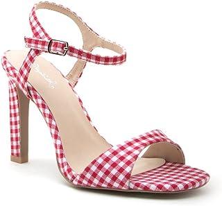 Qupid Women's Heeled Sandal
