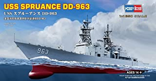 Hobby Boss 82504 Plastic Model Kit Scale 1:1250 - USS Spruance DD-963