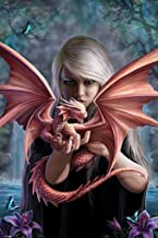 Pyramid America Anne Stokes Dragonkin Cool Wall Decor Art Print Poster 24x36