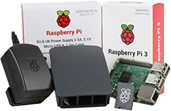 Raspberry Pi 3 Desktop Starter Kit (Black)
