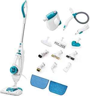 Neatec Steam Mop and Handheld Steam Cleaner Multifunctional Steamer,Floor Mop,Garment Steamer Carpet Cleaner, USM45B Mop Steamer