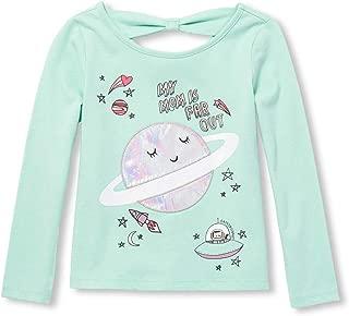 Toddler Girls' Long Sleeve Graphic Shirt