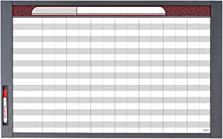 Quartet Inview Custom Whiteboard, 37.5 x 23 Inches.5 Inch Graphite Frame (72982)