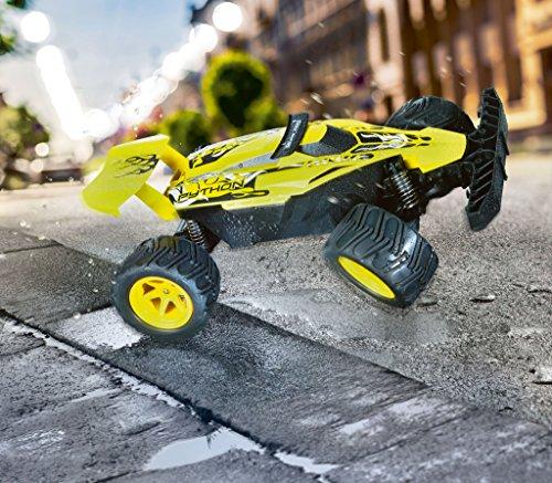 RC Auto kaufen Buggy Bild 2: Revell Control X-treme RC Car - schnelles, sehr robustes ferngesteuertes Auto als Buggy mit 2,4 GHz Fernsteuerung, Batterienbetrieben - Akku kann nachgerüstet werden - PYTHON 24807*