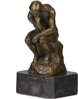 Toperkin Statues Rodin Collection Thinker Home Decor Bronze Sculpture