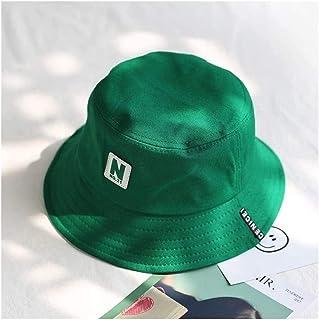 Achket دلو القبعات الأخضر دلو قبعة صياد القبعات الرجال النساء الخارجي الصيف شارع الهيب هوب راقصة القطن قبعة