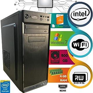 Computado Intel Pentium Dual Core HD 500 GB 4 GB Ram Com Wi-Fi D&D