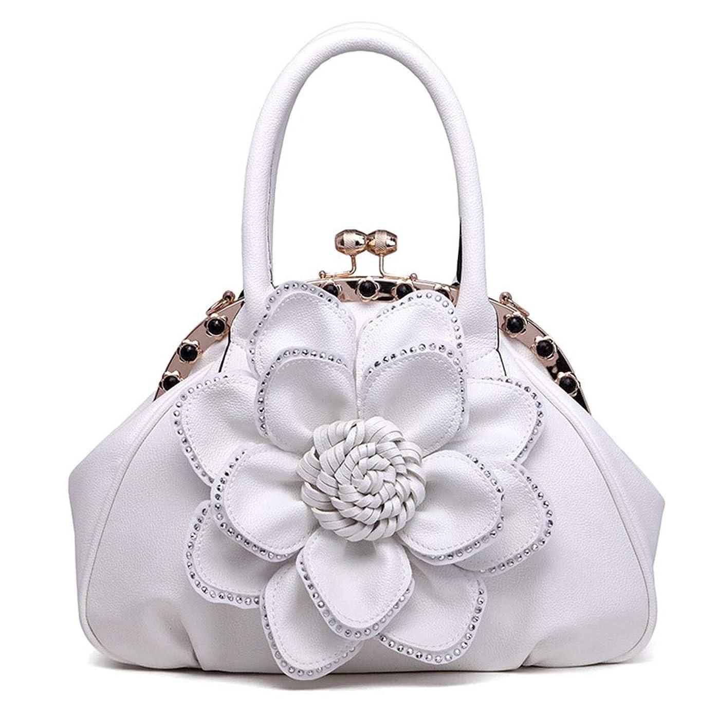 概念不満いちゃつくダイヤモンドの大きなフラワーバッグファッションショルダーバッグポータブル斜めの女性のバッグ