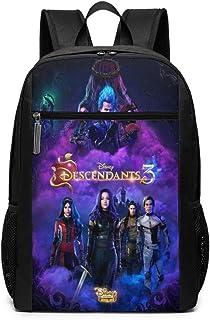 Descendants 3 Black Boys & Girls Backpacks Fashion Bookbag Kids DayPacks Outdoor School Bags 17 Inch