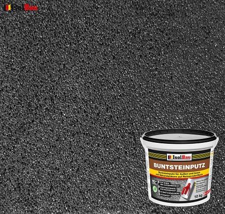 Buntsteinputz Mosaikputz BP100 (Anthrazit) 10kg Absolute ProfiQualität