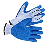 Innovative Scuba Concepts GL1513 Premium Puncture Resistant Gloves for Spearfishing Florida Lobster, Blue and White, Large