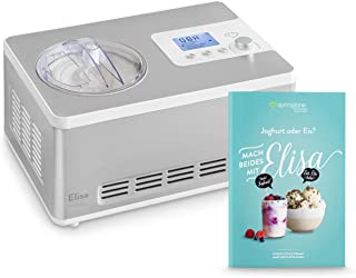 Heladera yogurtera 2 en 1 ELISA con compresor de refrigeración y función de calefacción