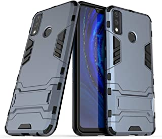 Case for Samsung Galaxy A21S (6.5 inch) 2 in 1 Shockproof with Kickstand Feature Hybrid Dual Layer Armor Defender Protecti...