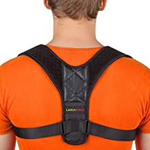 Sponsored Ad - Posture Corrector for Men and Women - Adjustable Upper Back Brace for Clavicle Support and Providing Pain R...