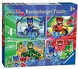 Ravensburger puzzle - Pj Mask Puzzle 4 in a box, Puzzle para niños