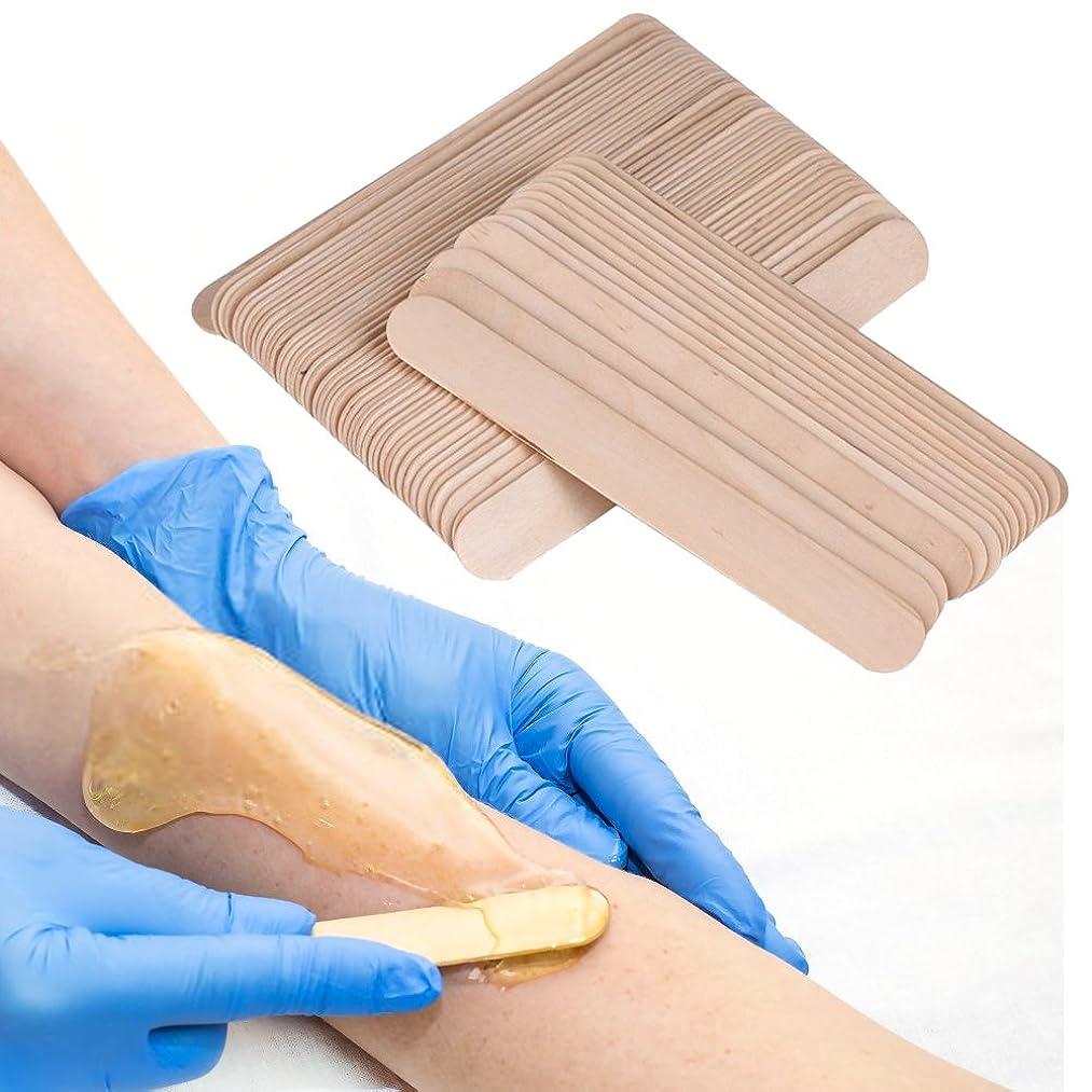 Waxing Stick, 100Pcs/Bag Waxing Stick Spatula Applicator Wooden Spatula Disposable Medical Tongue Depressor