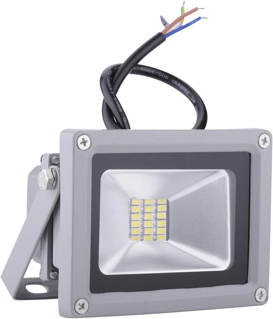 【Rondaful】5x 20W LED Fluter Außenstrahler SMD Wandstrahler Spots kaltweiss kaltlicht 1700-1800 lm Strahler Scheinwerfer AC 85-265V LED Flutlicht wasserdicht IP65 Flutlichtstrahler 10pcs
