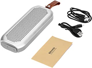 Meterk Wireless Bluetooth Stereo Speaker Bluetooth 4.0 NFC Waterproof AUX Hands-free Silver for iOS/Android Smart Phones O...