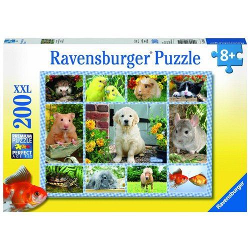 Ravensburger 2412810 - Meine erste Haustiere Puzzle-Set