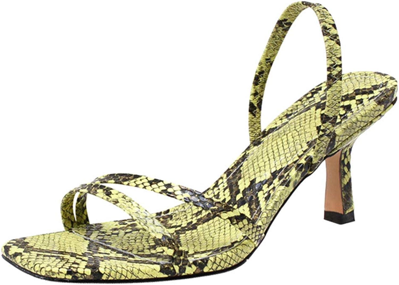 Melady Women Fashion Kitten Heels Summer shoes Open Toe Slingback