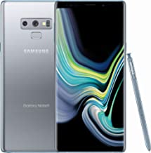 Samsung Galaxy Note 9, 128GB, Cloud Silver - Fully Unlocked (Renewed)