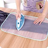 Smartrich 1PCS Tabla de Planchar Tela de Planchado Proteger Proteger Ropa Delicada Ropa Accesorios Caseros 80X40 cm (Color Al Azar)