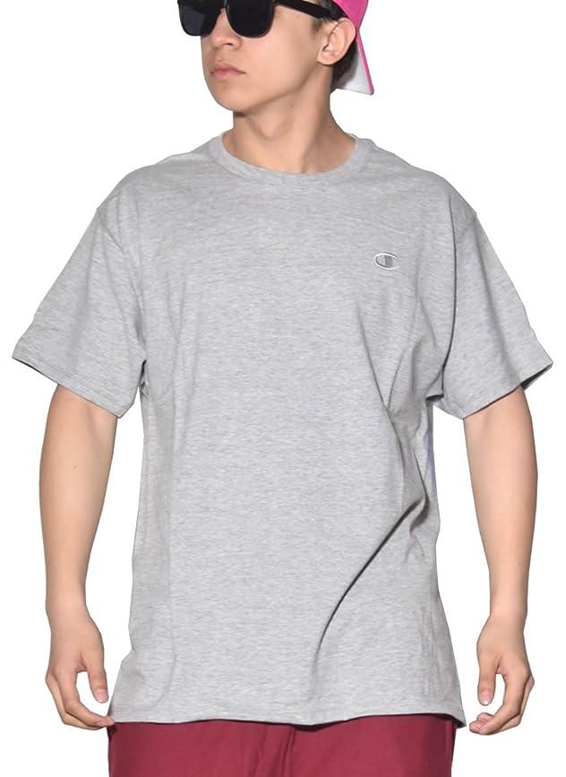 イソギンチャク銀ナット[Champion(チャンピオン)] Tシャツ メンズ 半袖 吸汗速乾 大きいサイズ ビッグサイズ VAPOR COTTON BASIC TEE [並行輸入品]
