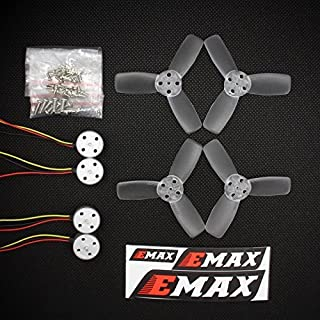 EMAX Original RS1104 5250KV Brushless Motor + T2345 Tri-Blades propellers CW CCW props for 130 RC Brushless Racer Drone