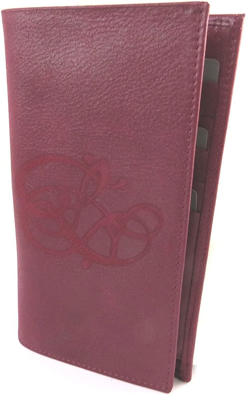 Les Trésors De Lily [N8916]  Checkbook holder glitter leather 'Les Trésors De Lily' ruby     Red  19x11 cm (7.48''x4.33'').