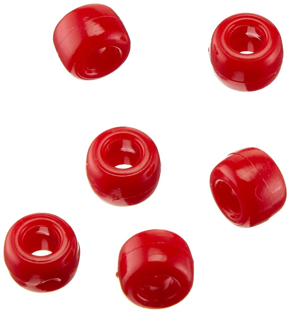 Pony Beads 06121-1-01 Bead Pony, 9 mm, Opaque Red