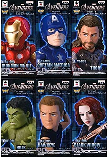 precio razonable MARVEL Avengers World Collectible figure figure figure whole set of 6  descuento de bajo precio
