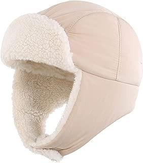 Toddler Boys Girls Sherpa Earflap Hat Kids Winter Hat Snow Ski Hat