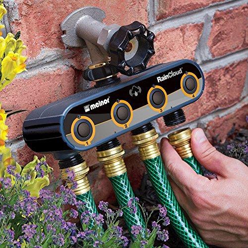 Melnor 16043-RSC Raincloud Internet Controlled Smart Water Irrigation Timer, Kit, Basic