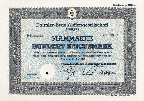 Bull + Bear Aktie Daimler Benz AG