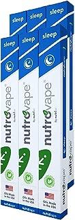Nutrovape World's 1st Inhalable Sleep Aid | Melatonin, Passionflower, Chamomile Inhaler Pen| Sleeping Pill Alternative |Fall Asleep Faster, Sleep Deeper | Longer Lasting Battery (6 Pack)