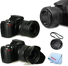 Canon EF-S 10-22mm f//3.5-4.5 USM Lens Canon EF 100-400mm f//4.5-5.6L IS USM Lens Tronixpro 77mm Pro Series Soft Rubber Lens Hood For Canon EF 70-200mm f//2.8L IS II USM Lens