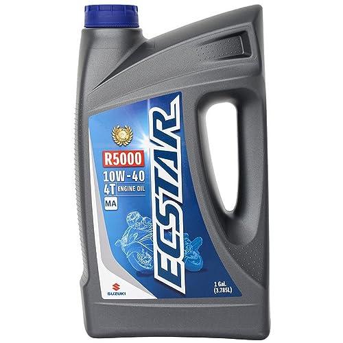 Suzuki ECSTAR R5000 Motorcycle Mineral Engine Oil 10W40 1 Gallon