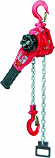 57//64 Opening Elephant Lifting YII-50 Ratchet Mini Lever Hoist 5 Lift Height Made in Japan 11-3//16 Lever 1100 lbs Capacity