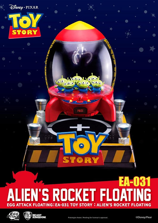 Beast Kingdom Beast kingdomfigbtk040Abysse Toy Story Ei Attack schwebend Alien Rocket Action Figur
