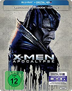 X-Men Apocalypse (Steelbook) [Blu-ray] [Limited Edition]